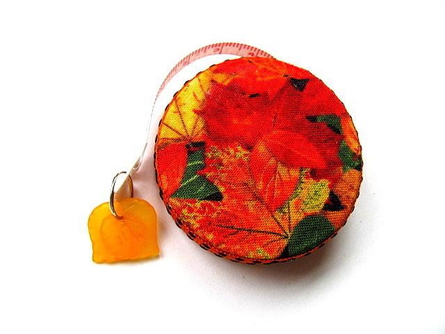 Retractable Tape Measure Autumn Leaves Measuring Tape