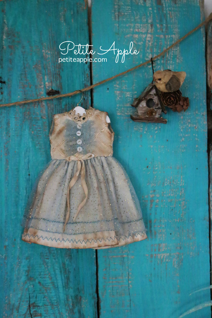 Blythe and Holala doll OOAK dress- *sprinkle and sparkle*