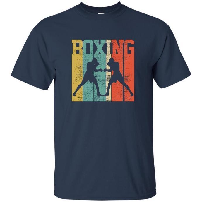 Boxing Retro Men T-shirt, Vintage Boxing Tee, Boxing Retro Tshirt, Boxing