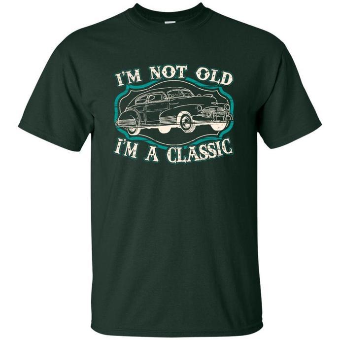 Classic Car Birthday, I am Not Old, I am A Classic Men T-shirt, Car Birthday