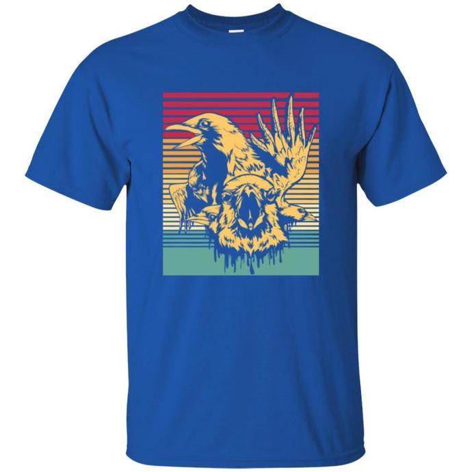 Crows Retro, Gift Idea Men T-shirt, Crows T-shirt, Retro Men t-shirt, Vintage