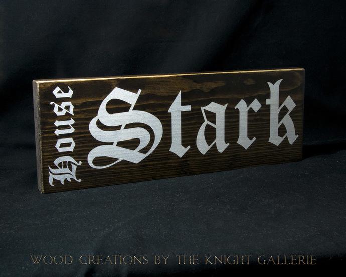 Stark / Game of Thrones (inspired) Wall Art
