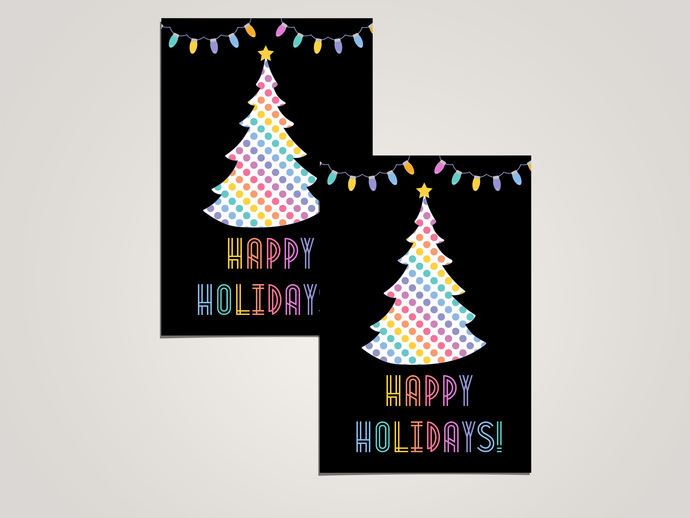 Happy Holidays - Lularoe PostCard- Digital File
