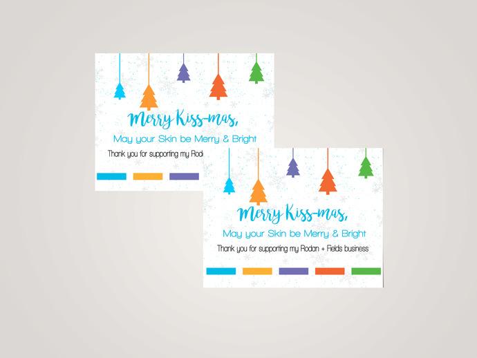 Merry Christmas - Rodan + Fields PostCard- Digital File