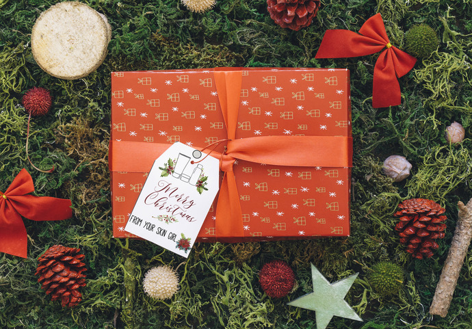 Merry Christmas Gift Tags R+F