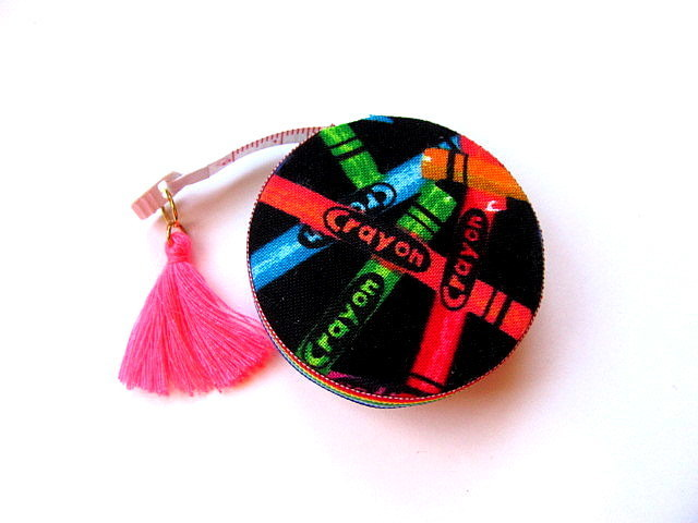Measuring Tape Rainbow Crayons Retractable Tape Measure
