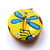 Tape Measure Bright Dragonflies and Butterflies Retractable Measuring Tape