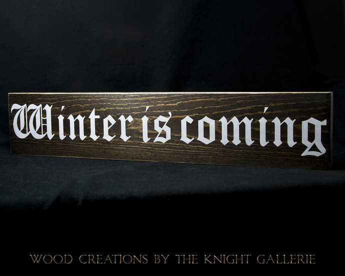Game of Thrones (inspired) Wall Decor