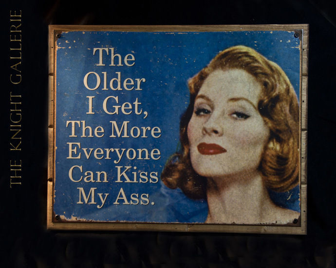 Wall Decor; Older and wiser!