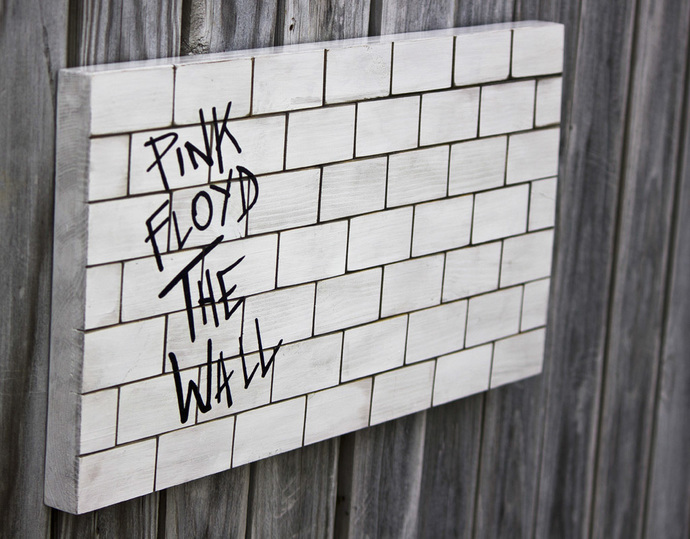 Wall Decor; Pink Floyd inspired: THE WALL