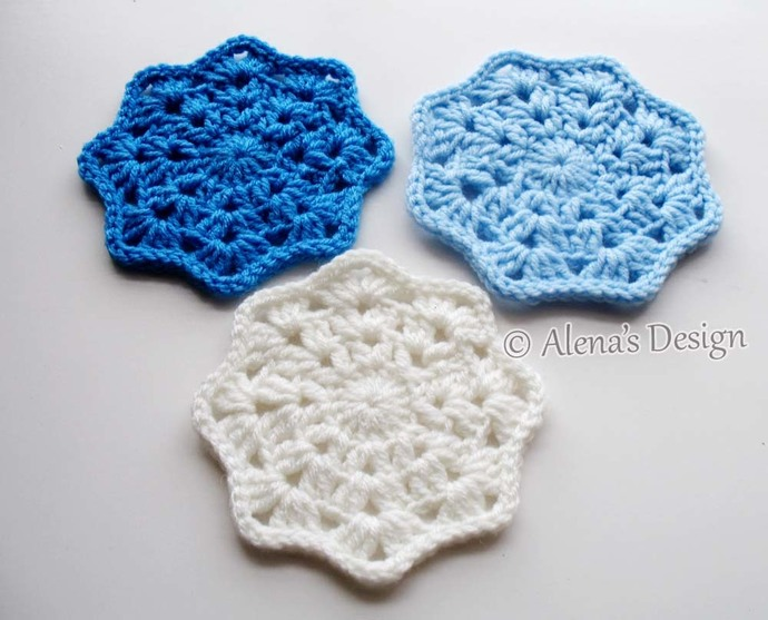 Coaster Free Crochet Pattern 190 Lace Octagon Coaster Crochet Patterns Crochet