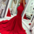 Copy of Sleeveless Sweetheart Red Mermaid Formal Occasion Dresses
