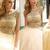 Sexy Prom Dresses A-line Floor-length Rhinestone Prom Dress/Evening Dress