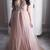 Chic Prom Dresses Spaghetti Straps A Line Floor-length Long Tulle Sexy Prom
