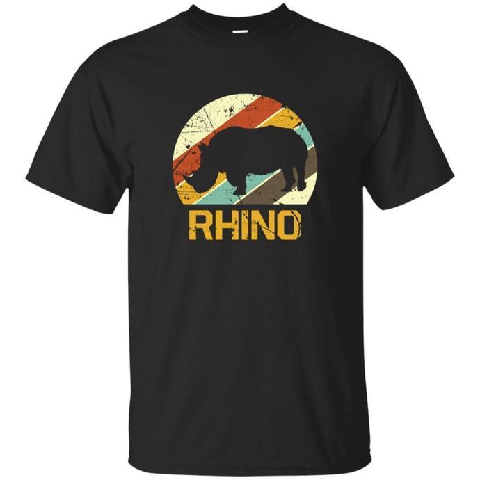 Rhino Vintage, South Africa, Rhino, Gift idea, Retro T-shirt, Vintage Tee, Gift