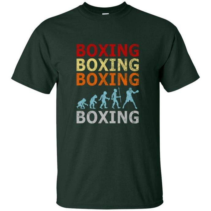 Retro Vintage Boxing Fighter Men T-shirt, Vintage Boxing Fighter Tee, Boxing