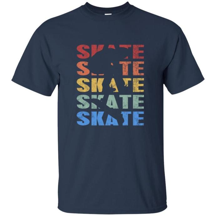 Vintage Retro Style Skateboarding Men T-shirt, Style Skateboarding Tee,