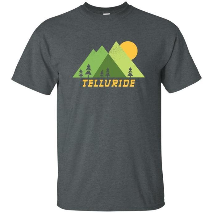 Telluride Colorado Mountains Men T-shirt, Colorado Mountains T-shirt, Telluride