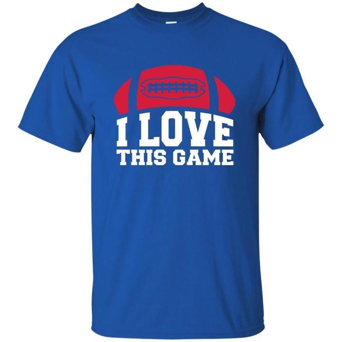 American Football, I Love This Game Men T-shirt, American Football T-shirt, I