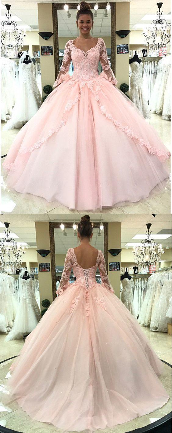 04570da5a9a Blush Pink Quinceanera Dresses