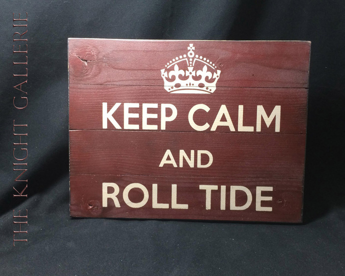 Wall Decor; ROLL TIDE!