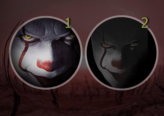 Horror, Pennywise clown, stephen king, creepy clowns Sticker for car, rear