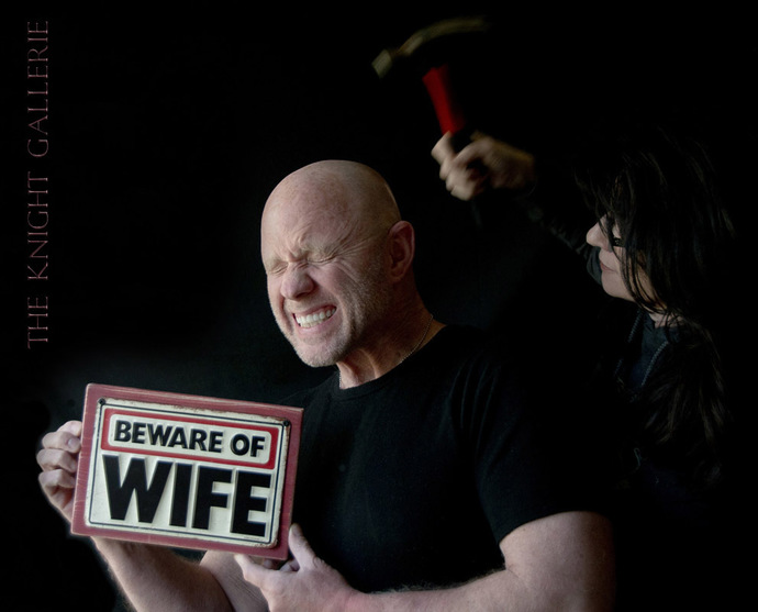 Wall Decor; BEWARE of WIFE!