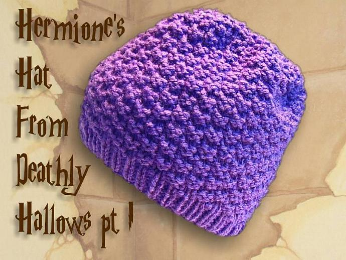 Hermione's hat recreated from Harry Potter and the Deathly Hallows- with