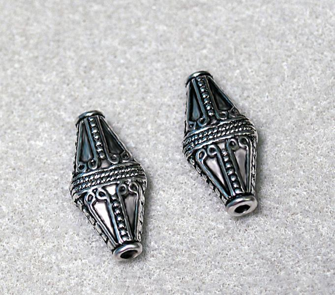 Designer Bali Style Silver Beads