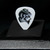 Commemorative guitar pick and display case: LEMMY
