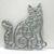 Fancy Cat Metal Cutting Die