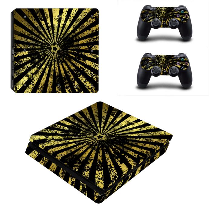 Pentagram design PS4 slim Skin for PlayStation 4 slim Console & Controllers