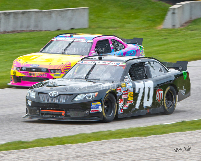 Motorsports Image: Tony Raines in Wisconsin