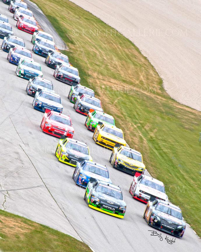 Motorsports Image: Final Pace Lap
