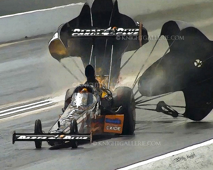Drag Racing Image: After The Run