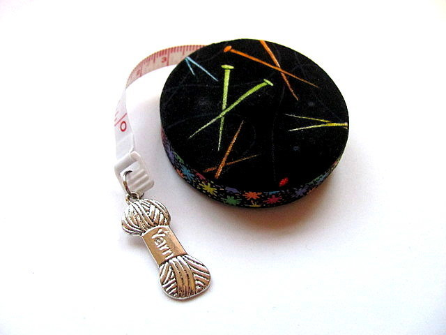 Measuring Tape Rainbow Knitting Needles Retractable Tape Measure