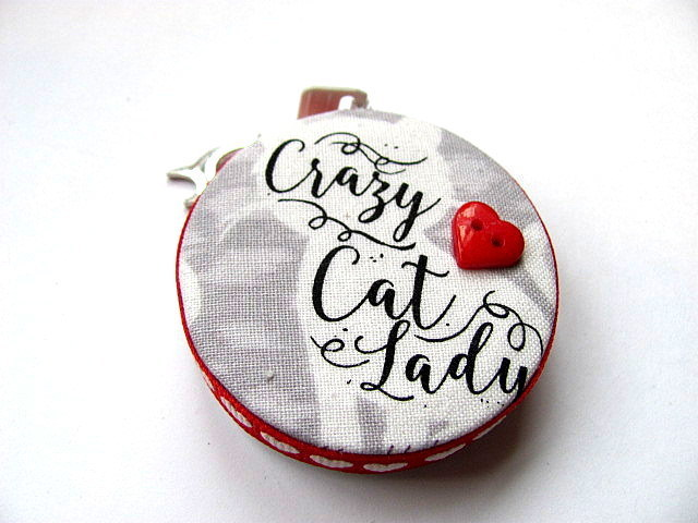 Crazy Cat Lady Tape Measure Retractable Measuring Tape