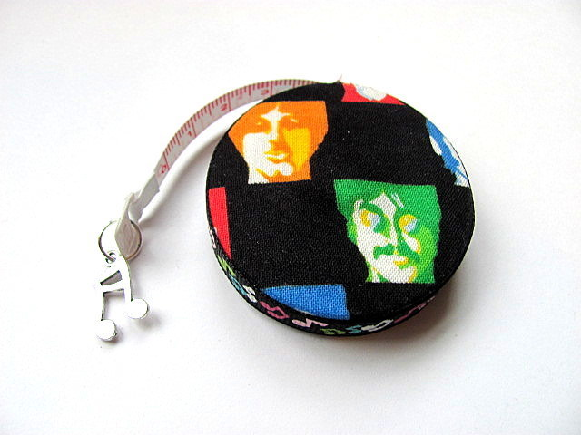 Measuring Tape The Beatles Retractable Tape Measure