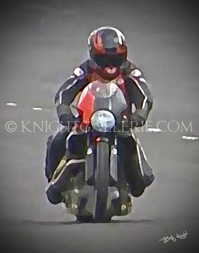 Motorcycle Image: Pro Stock Motorcycle Qualifying Run