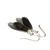 Obsidian Sterling Earrings Gold Sheen Obsidian Faceted Teardrop Black Obsidian