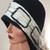 cloche felted merino wool hat, winter fall women's hat, Millenary hat, decorated