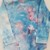 Girl's Turtleneck  Bodysuit, Ice Dyed Top,  Shades Blue and Pink, Great Holiday