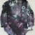 Girl's Turtleneck  Bodysuit, Ice Dyed Top,  Shades Green and Grey , Great