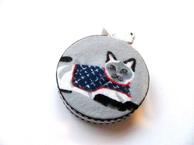 Tape Measure Sweater Cats Retractable Pocket Measuring Tape
