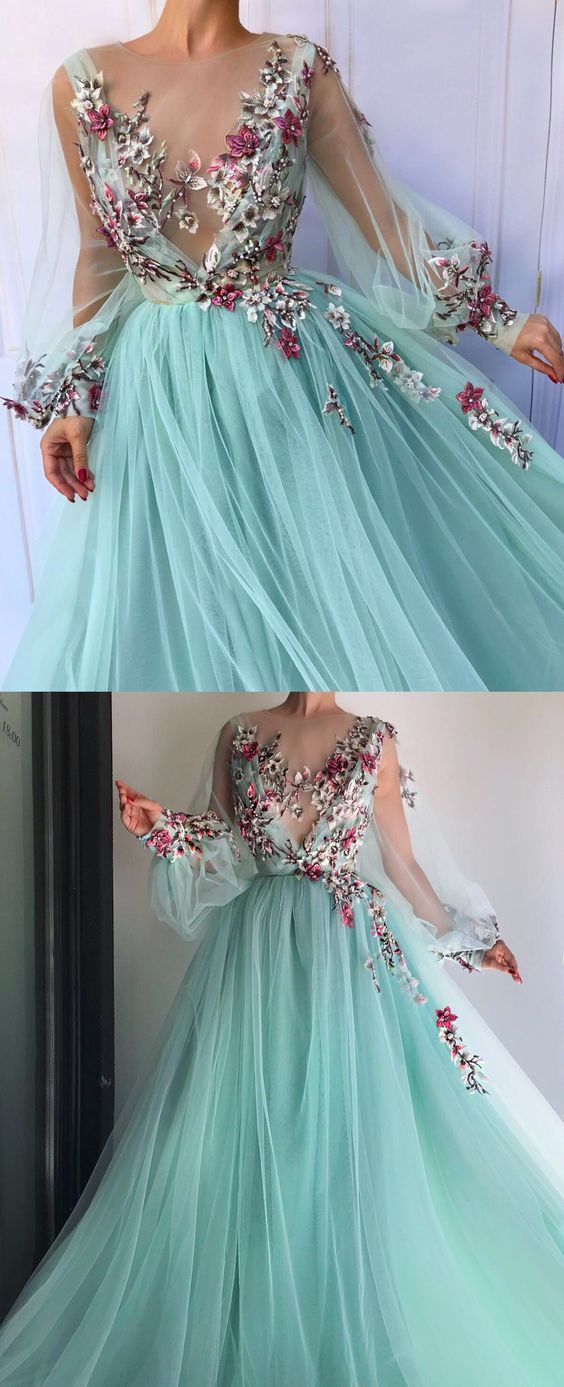 Prom Dresses with Puff