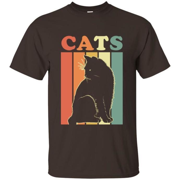 Cats Retro, Cat Lover Men T-shirt, Cats Retro T-shirt, Cat Lover Tee, Retro Men