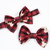 Little Guy Bow Tie - Holiday Collection 2018 - Deer on Buffalo Plaid