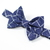 Little Guy Bow Tie - Holiday Collection 2018 - Navy and Silver Windowpane