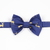 Little Guy Bow Tie - Holiday Collection 2018 - Navy with Gold Deer