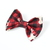 Large Cotton Bow Clip//Clip on Bow Tie - Holiday Collection 2018 - Deer on